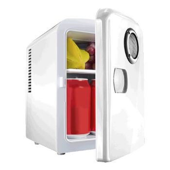 Mini-Fridge With Built In Bluetooth Speaker